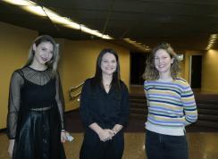Anica Petrović, Bojana Milanović és Sonja Isailović (Fotó: Bozsoki Valéria)