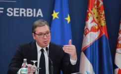 Aleksandar Vučić (Fotó: Beta)