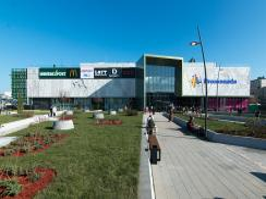 Szerdától várja a Promenada bevásárló központ azokat, akik bejelentkezés nélkül szeretnék felvenni a koronavírus elleni védőoltást (Fotó: gradnja.rs)