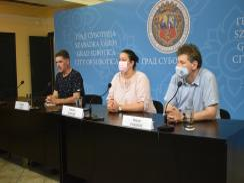 Dragan Savić, Nataša Aleksić és Dejan Vuković