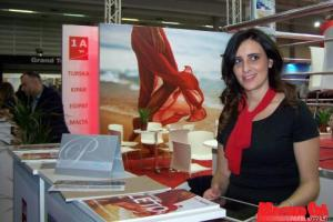 The Turkish 1A Travel Agency had the most attractive stand (Photo: Márta Varjú)