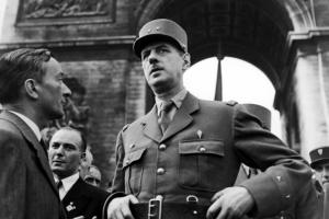 Charles de Gaulle (Fotó: Europress/Getty)