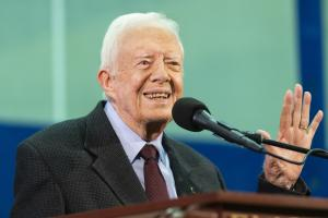 Jimmy Carter (Fotó: Washington Post)