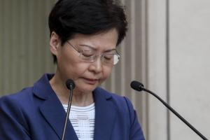 Carrie Lam (Fotó: South China Morning Post)