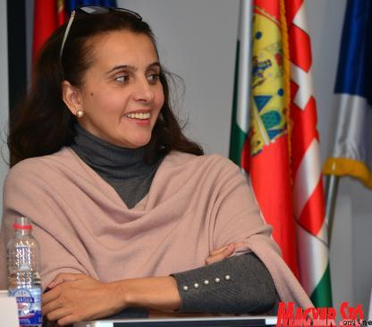 Marija Vrebalov (Photo: Csilla Dávid)