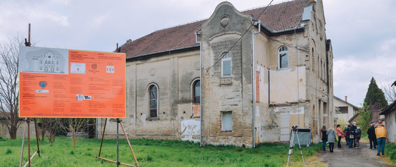 Felújítják a kis zsinagógát
