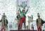 Izgalmas versenyt hozott a Nemzeti Vágta döntője is, amelyet Füzér lovasa, Kun Ferenc nyert meg Victoria Colonia nyergében (Ótos András felvétele)<br />