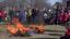 A kiszebábot a kultúrotthon udvarában égették el<br />