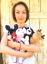 Hajagos Beáta: Nagyon szeretem a horgolt játékokat (A szerző felvétele)<br />
