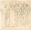 Jacques-Louis David: Forradalmárok egy csoportja (Fotó: themorgan.org)<br />