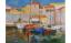 Petar Dobrović:Vitorlások a kikötőben. 1935., olaj vásznon<br />